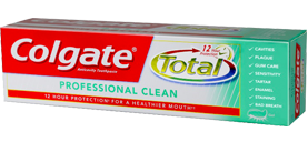 Colgate Total<sup>®</sup> Professional Clean