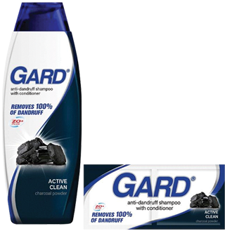 Gard CharcoalAnti-Dandruff Shampoo with Conditioner