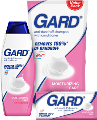 Gard Anti-Dandruff Shampoo with Conditioner - Moisturizing Care