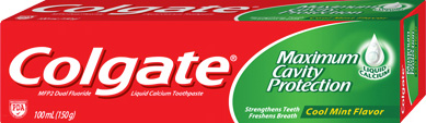 Colgate® Maximum Cavity Protection Great Regular Flavor